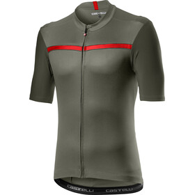 Castelli Unlimited Jersey Korte Mouwen Heren, forest gray